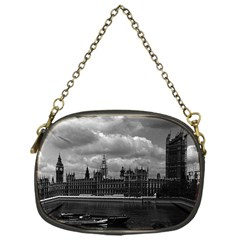 Vintage UK England London The houses of parliament 1970 Single-sided Evening Purse
