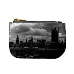 Vintage Uk England London The Houses Of Parliament 1970 Coin Change Purse