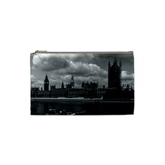 Vintage UK England London The houses of parliament 1970 Small Makeup Purse