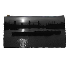 Vintage Uk England London Sun Sets Tower Bridge 1970 Pencil Case