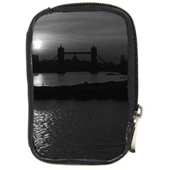 Vintage Uk England London Sun Sets Tower Bridge 1970 Digital Camera Case