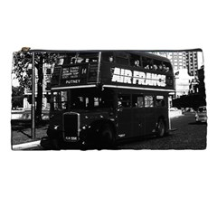 Vintage Uk England London Double Decker Bus 1970 Pencil Case