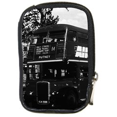 Vintage UK England London double decker bus 1970 Digital Camera Case