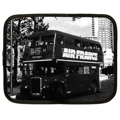 Vintage UK England London double decker bus 1970 13  Netbook Case
