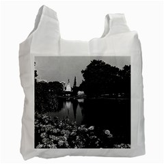 Vintage England London Buckingham Palace St James Park Twin Sided Reusable Shopping Bag