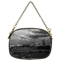 Vintage UK England London The River Thames 1970 Twin-sided Evening Purse