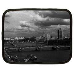 Vintage UK England London The River Thames 1970 13  Netbook Case