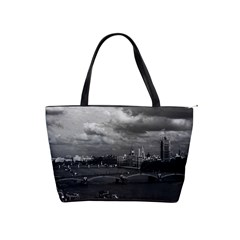 Vintage Uk England London The River Thames 1970 Large Shoulder Bag