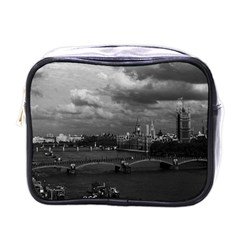 Vintage Uk England London The River Thames 1970 Single Sided Cosmetic Case