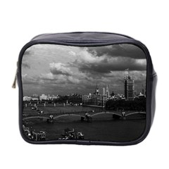 Vintage UK England London The River Thames 1970 Twin-sided Cosmetic Case