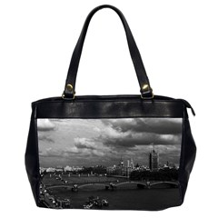 Vintage UK England London The River Thames 1970 Twin-sided Oversized Handbag
