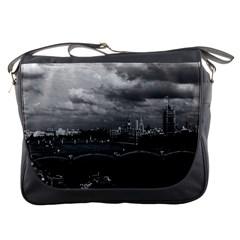 Vintage UK England London The River Thames 1970 Messenger Bag