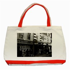Vintage Uk England London Shops Carnaby Street 1970 Red Tote Bag