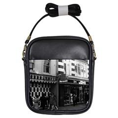 Vintage UK England London shops Carnaby street 1970 Kids  Sling Bag
