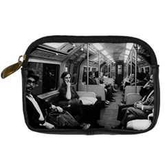 Vintage UK  England railway inside coach 1970 Compact Camera Case