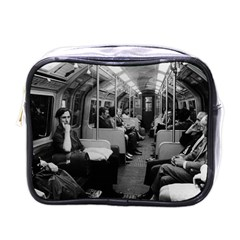 Vintage UK  England railway inside coach 1970 Single-sided Cosmetic Case
