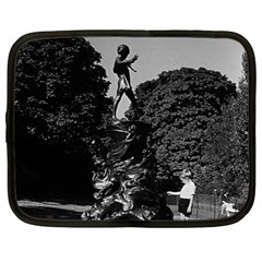 Vintage Uk  England London Peter Pan Statue Kensington 12  Netbook Case