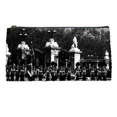 Vintage England London Changing guard Buckingham palace Pencil Case