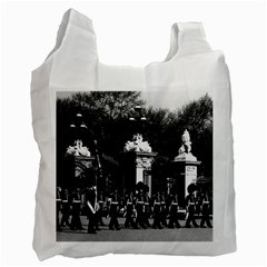 Vintage England London Changing guard Buckingham palace Twin-sided Reusable Shopping Bag