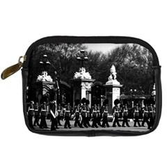 Vintage England London Changing Guard Buckingham Palace Compact Camera Case