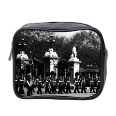 Vintage England London Changing Guard Buckingham Palace Twin Sided Cosmetic Case