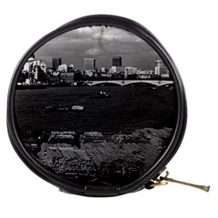 Vintage Uk England River Thames London Skyline City Mini Makeup Case