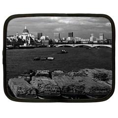 Vintage UK England river thames London skyline city 15  Netbook Case