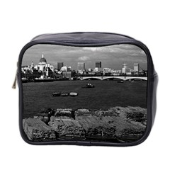 Vintage UK England river thames London skyline city Twin-sided Cosmetic Case
