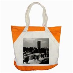 Vintage Uk England London Hyde Park Corner Hilton 1970 Snap Tote Bag