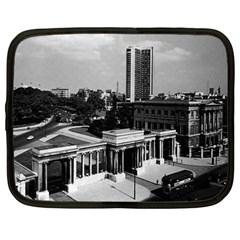 Vintage UK England London Hyde park corner Hilton 1970 12  Netbook Case