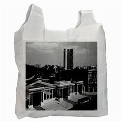 Vintage UK England London Hyde park corner Hilton 1970 Twin-sided Reusable Shopping Bag