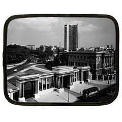Vintage Uk England London Hyde Park Corner Hilton 1970 15  Netbook Case