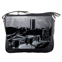 Vintage UK England London Hyde park corner Hilton 1970 Messenger Bag