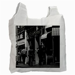 Vintage UK England London Shops Carnaby street 1970 Twin-sided Reusable Shopping Bag
