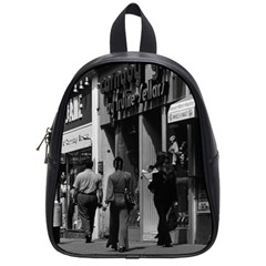 Vintage UK England London Shops Carnaby street 1970 Small School Backpack