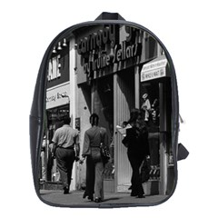 Vintage Uk England London Shops Carnaby Street 1970 School Bag (xl)