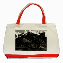 Vintage Usa Alaska Mt Mckinley National Park 1970 Red Tote Bag