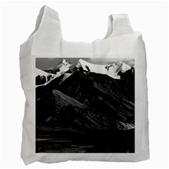Vintage USA Alaska Mt Mckinley national park 1970 Twin-sided Reusable Shopping Bag