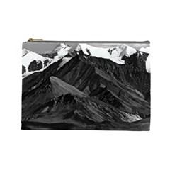 Vintage USA Alaska Mt Mckinley national park 1970 Large Makeup Purse