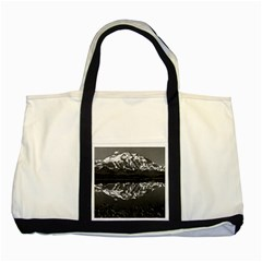 Vintage USA Alaska magnificent mt mckinley 1970 Two Toned Tote Bag
