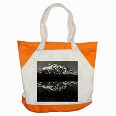Vintage Usa Alaska Magnificent Mt Mckinley 1970 Snap Tote Bag