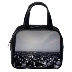 Vintage Usa Washington City Overview 1970 Single Sided Satchel Handbag