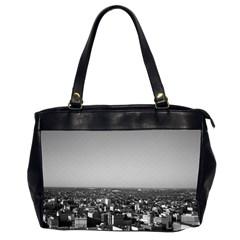 Vintage Usa Washington City Overview 1970 Twin Sided Oversized Handbag