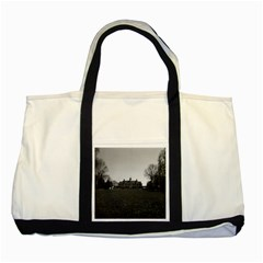 Vintage Usa Mount Vernon George Washington House 1970 Two Toned Tote Bag