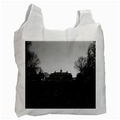 Vintage USA Mount Vernon George Washington house 1970 Twin-sided Reusable Shopping Bag