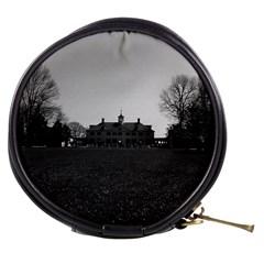 Vintage USA Mount Vernon George Washington house 1970 Mini Makeup Case