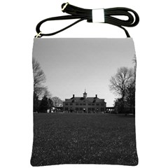 Vintage Usa Mount Vernon George Washington House 1970 Cross Shoulder Sling Bag