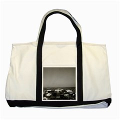 Vintage USA Washington Capitol overview 1970 Two Toned Tote Bag