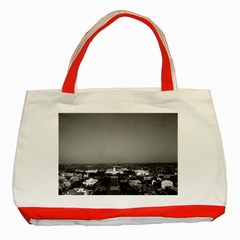 Vintage USA Washington Capitol overview 1970 Red Tote Bag