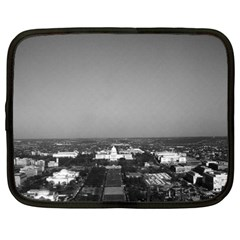 Vintage USA Washington Capitol overview 1970 15  Netbook Case